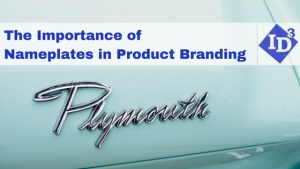 The Importance of Nameplates in Product Branding
